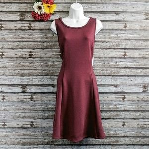 Old Navy Sleeveless Ponte Knit Fit & Flare Dress M